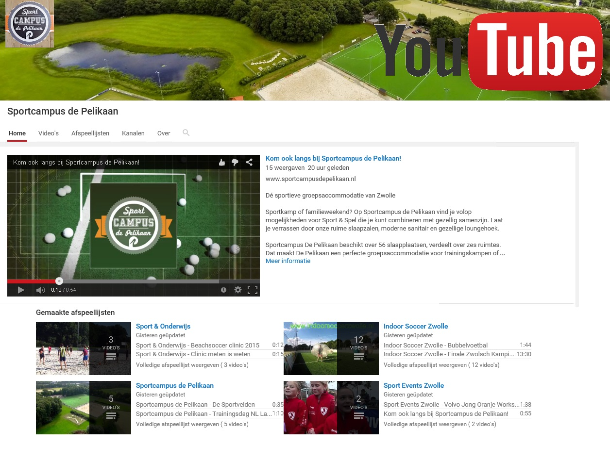 youtube sportcampus